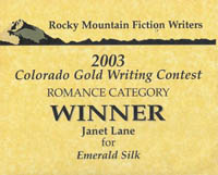Winning the RMFW Colorado Gold Contest helped me catch the attention of an editor who visited the conference and led to my first book contract.